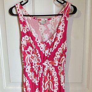 Boden pink maxi dress